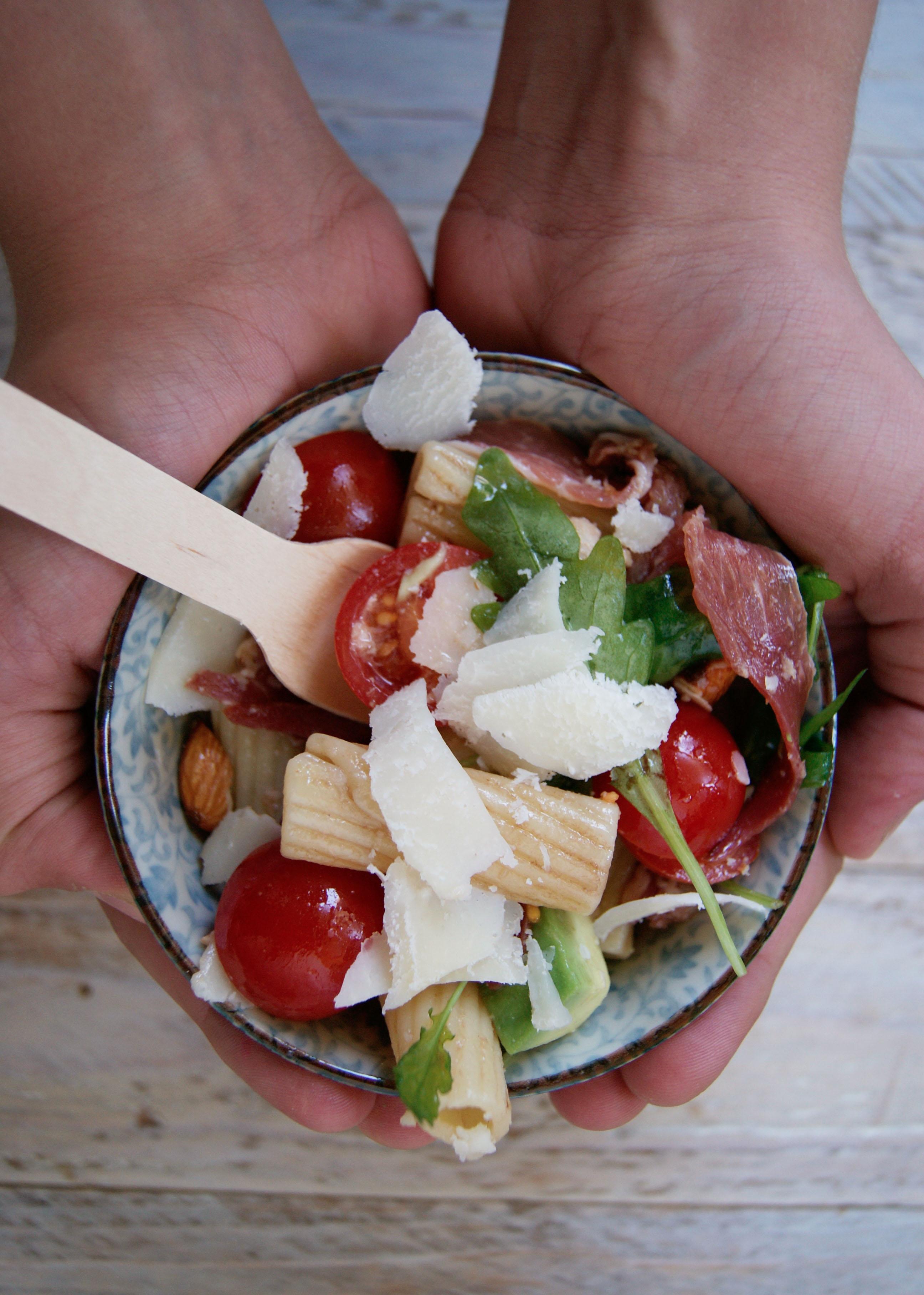 Salade de p tes l 39 italienne meg cook - Salade de pates jambon ...