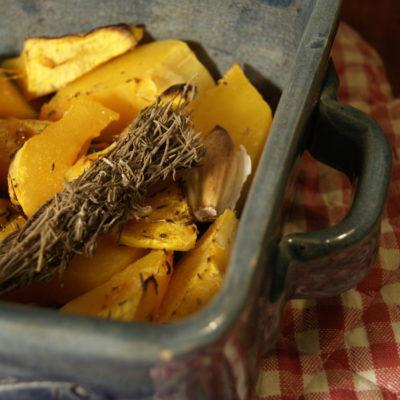 Butternut rôtie au four