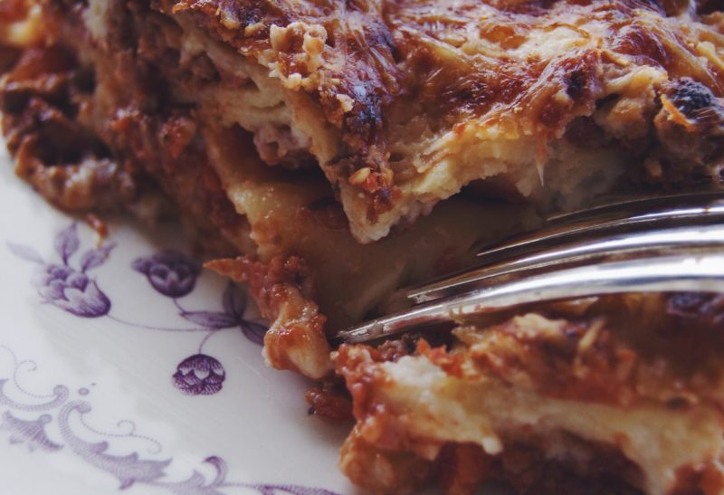 Les véritables lasagne al ragu' de Bologne