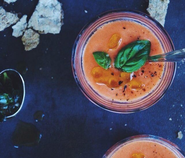 Salmorejo de tomates