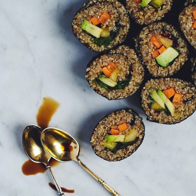 Quinoa sushis