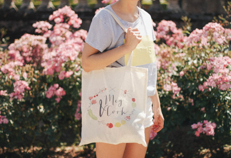 Tote bag Meg&Cook {Lababineau photography}