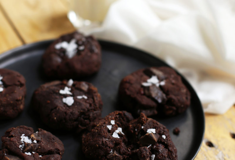 Cookies choco aux haricots rouges