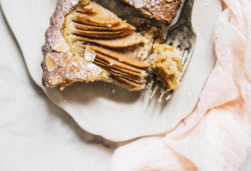 Gâteau poires & amandes