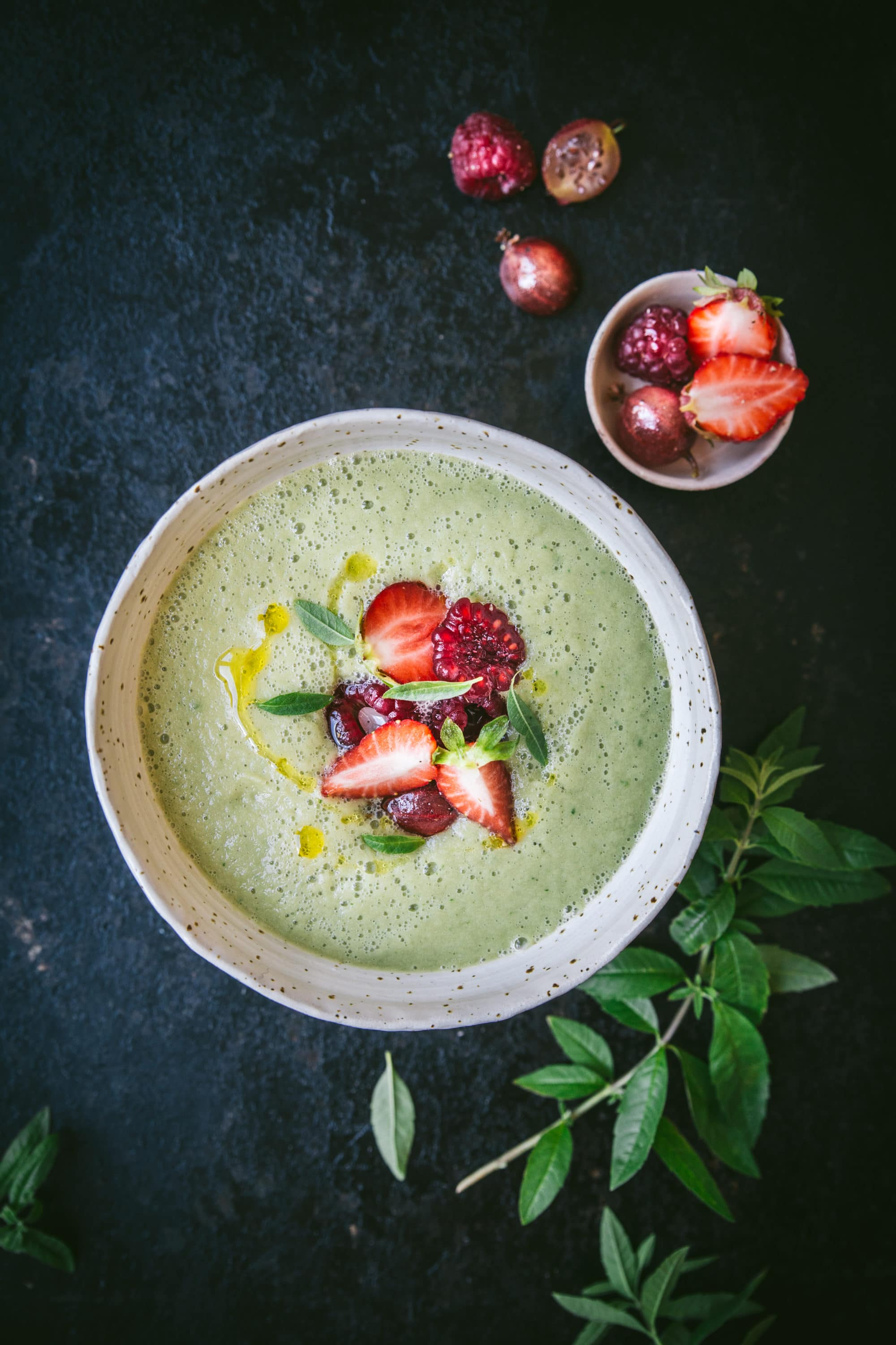 Gaspacho concombres - megandcook - megane Arderighi - styliste culinaire