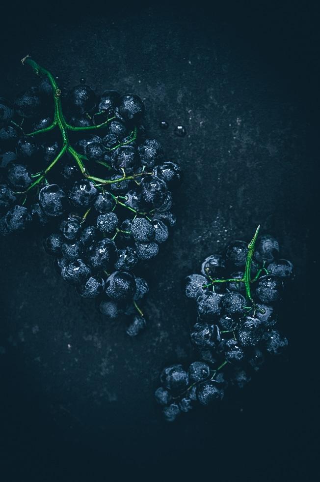 Farinata aux raisins