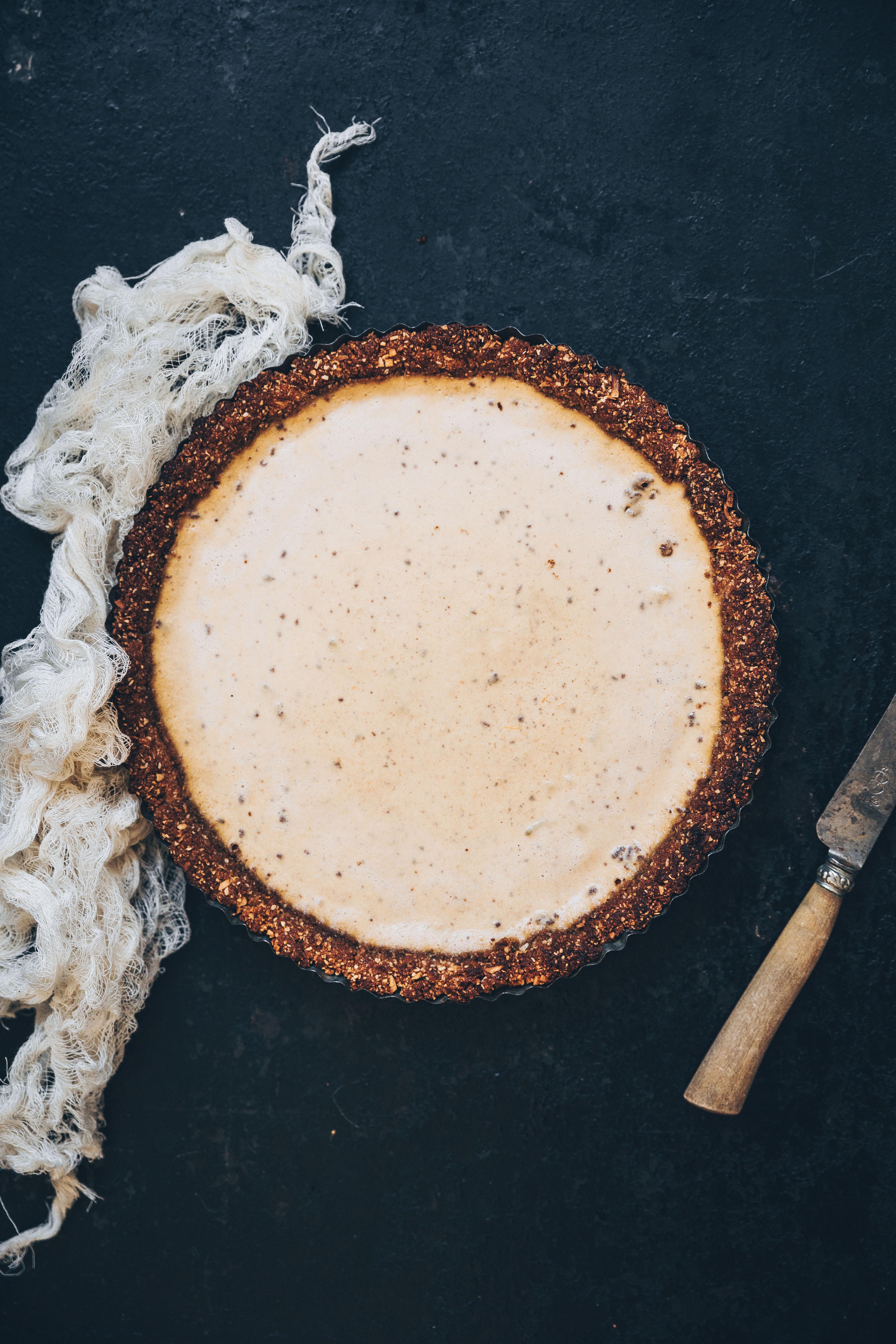 Pumpkin pannacotta tarte recettes