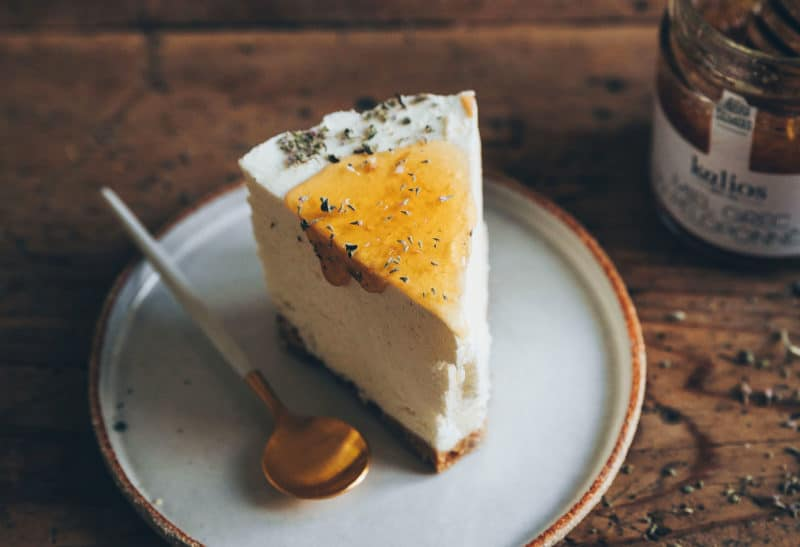 Cheesecake glacé au miel