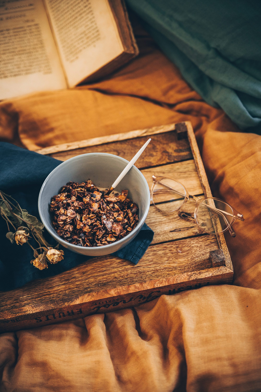 granola maison recette petit déjeuner