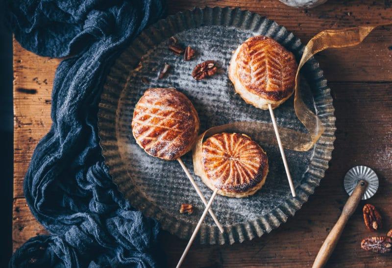 Pop galettes au sirop d'érable et noix de pécan
