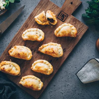 Empanadas à l'agneau & feta