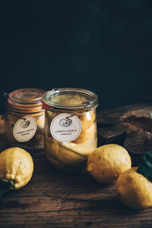 citrons confits recette