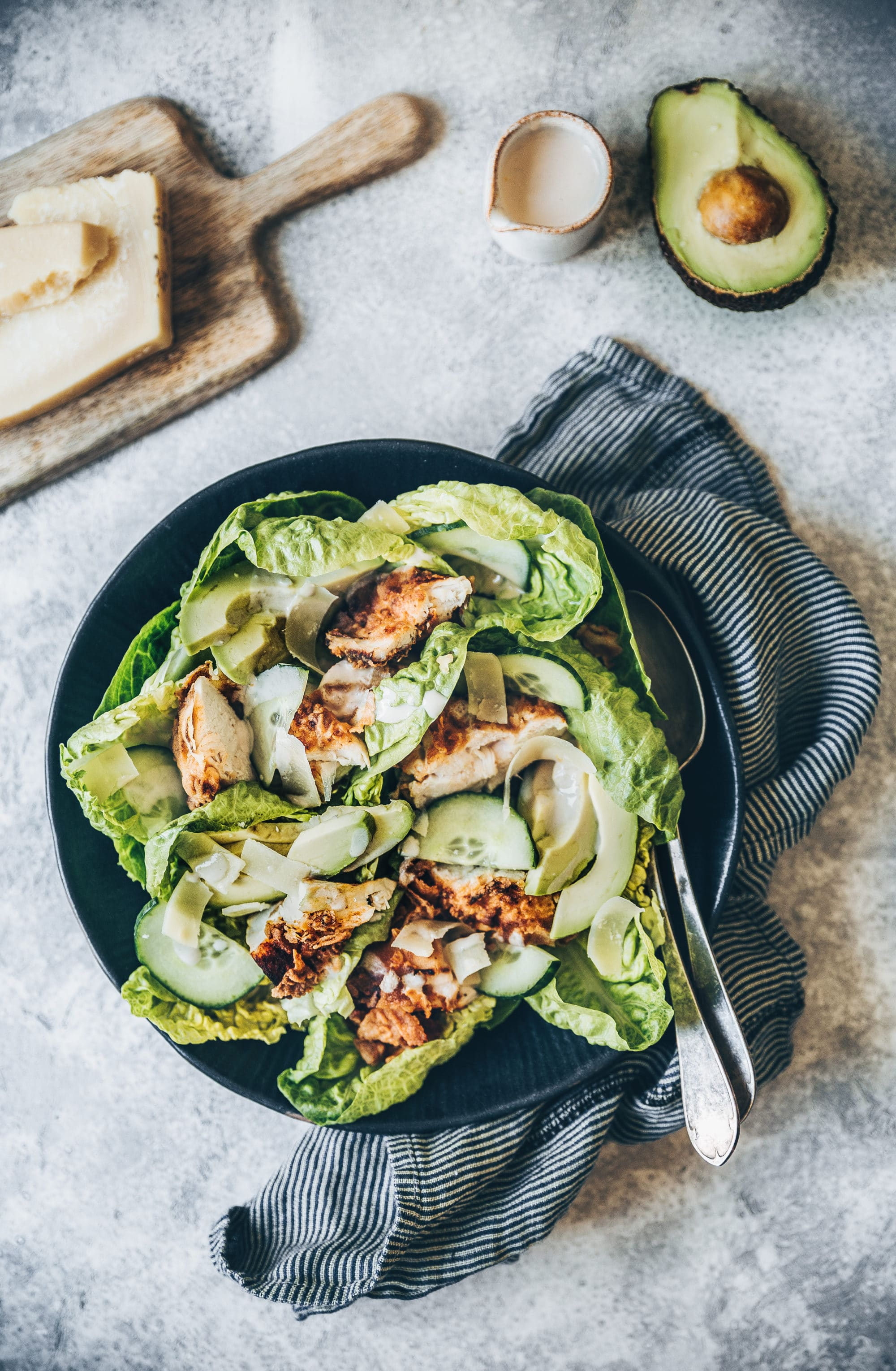 Salade lapin
