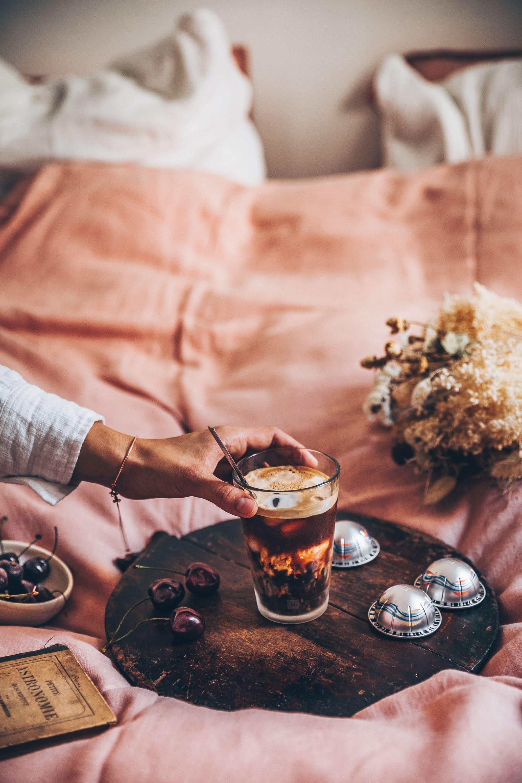 Iced coffee Nespresso megandcook,