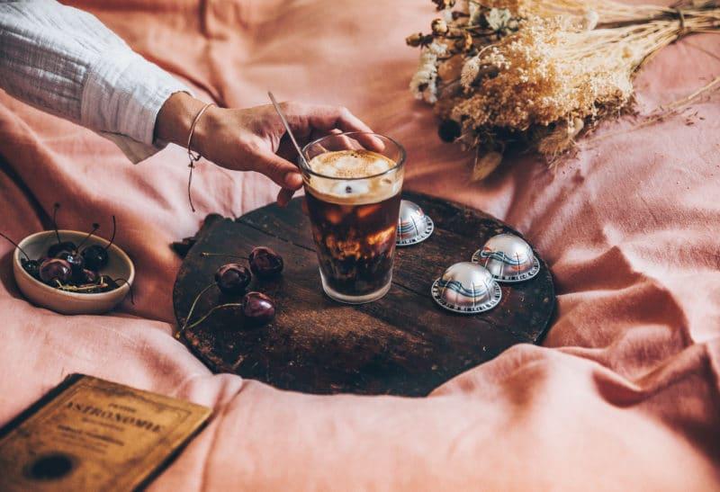 Iced coffee amandes & fleur d'oranger