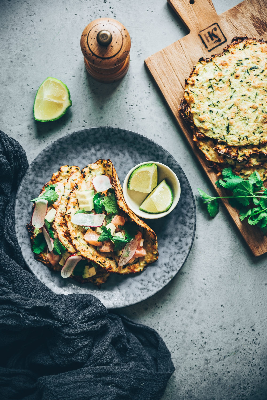 Tacos de courgettes megandcook