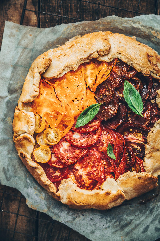 Tarte rustique tomates megandcook  Megane Arderighi