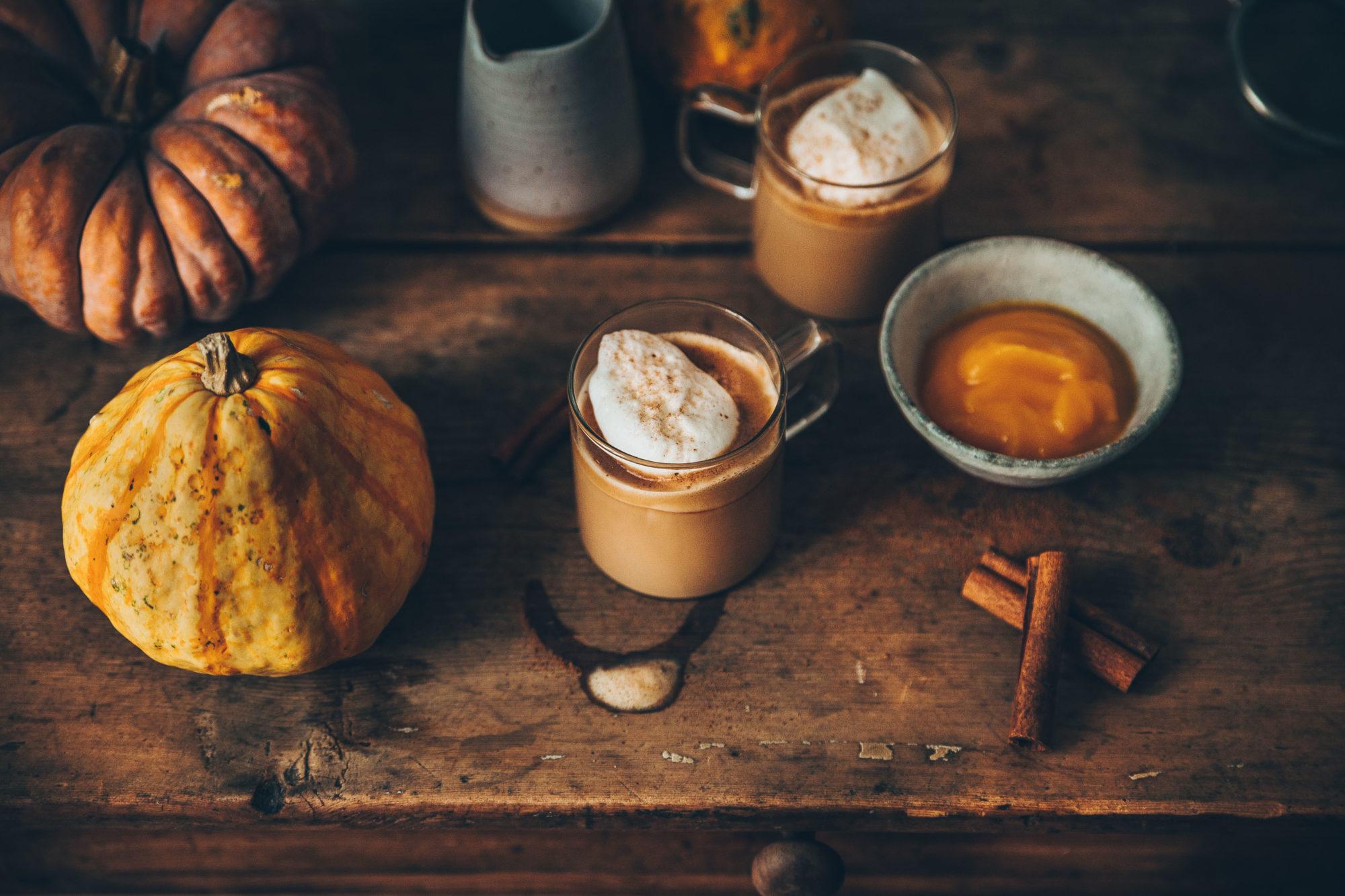 Espresso façon pumpkin latte