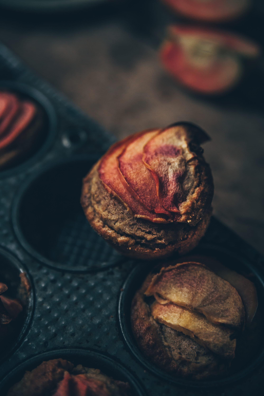 muffins pommes