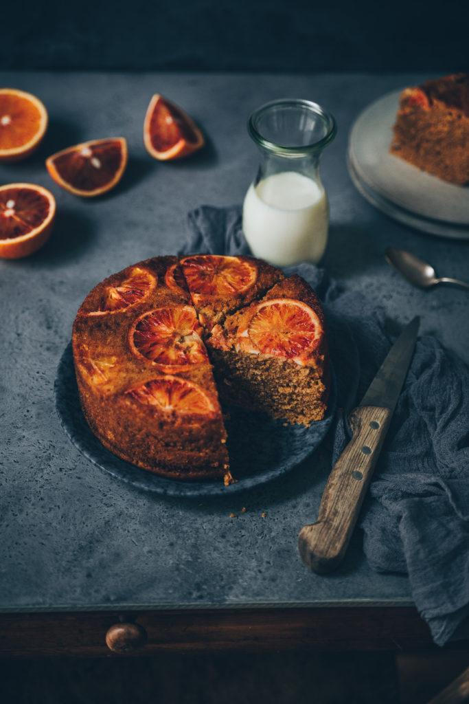 Cake vapeur orange - Meg&Cook Mégane Ardérighi