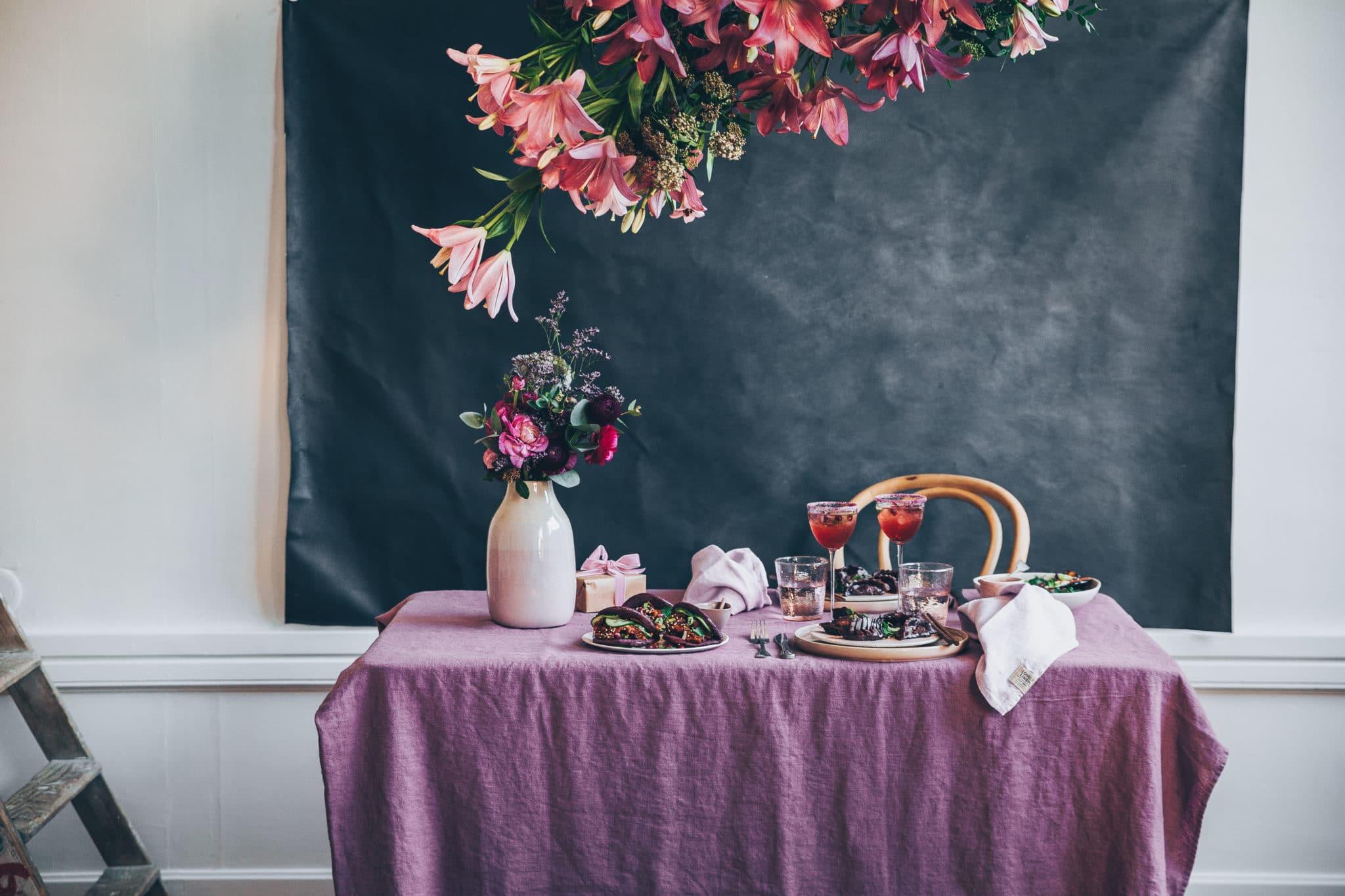 St Valentin tout en rose