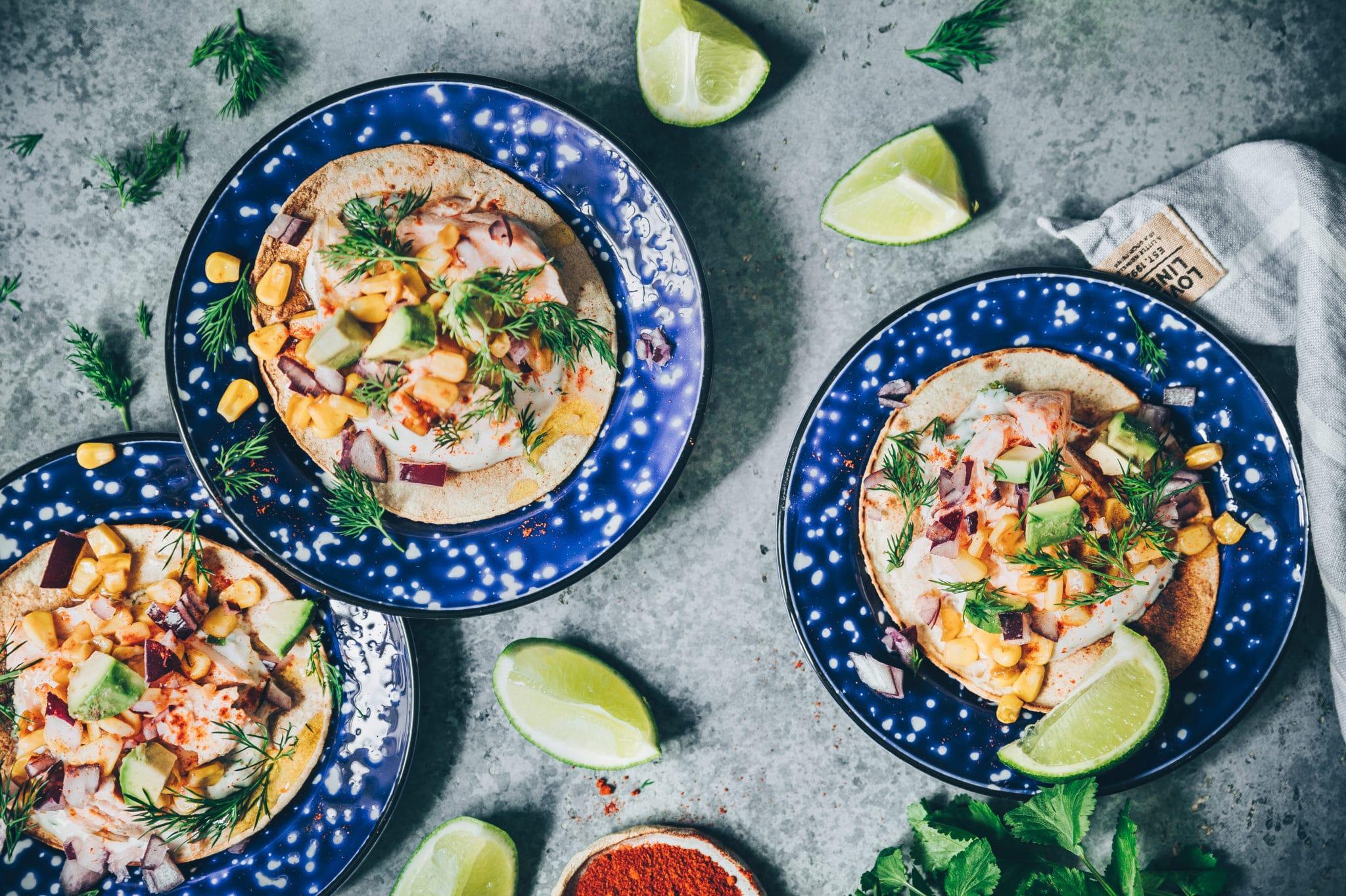 Tacos de saumon