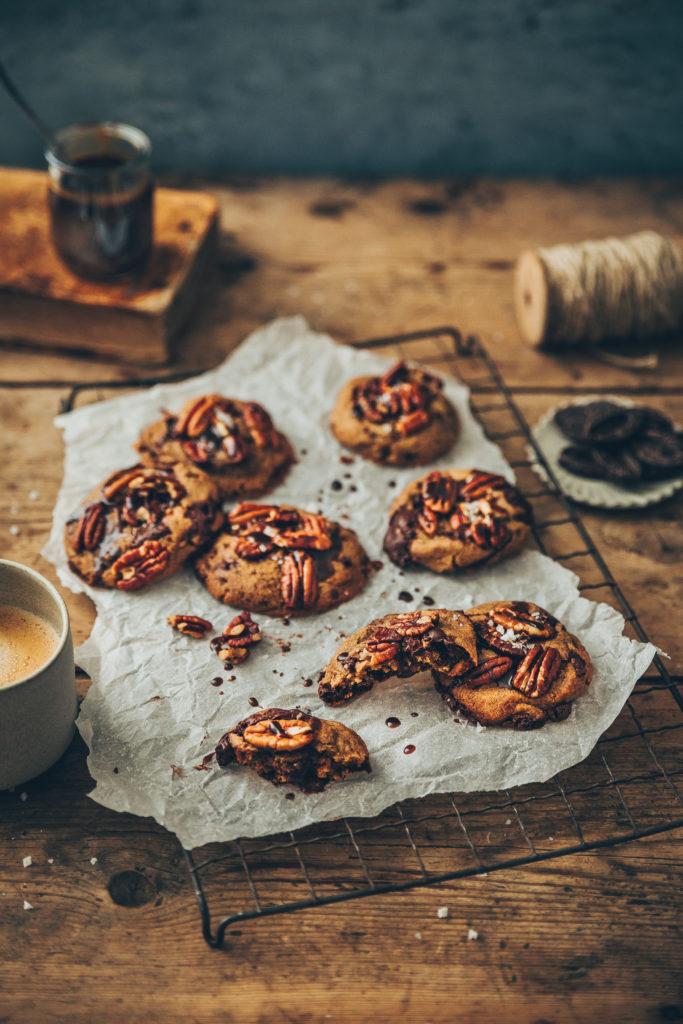Cookies chocolat vegan - Megane Arderighi styliste culinaire