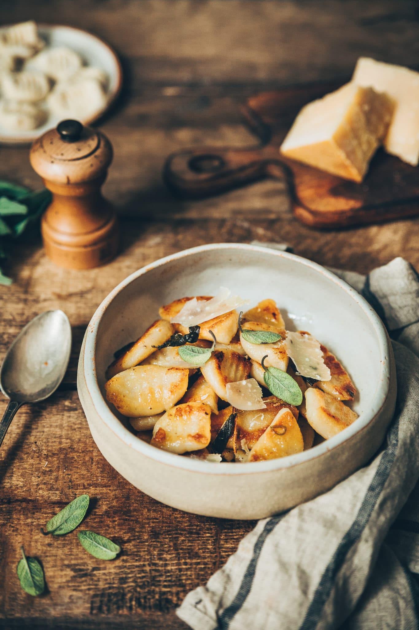 gnocchis chou-fleur, Megandcook - styliste culinaire lyon