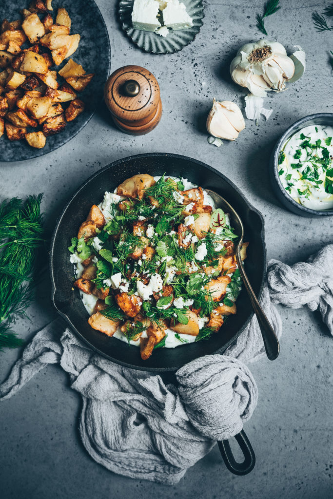 Pommes de terre salade - Mégane Ardérighi - megandcook -styliste culinaire