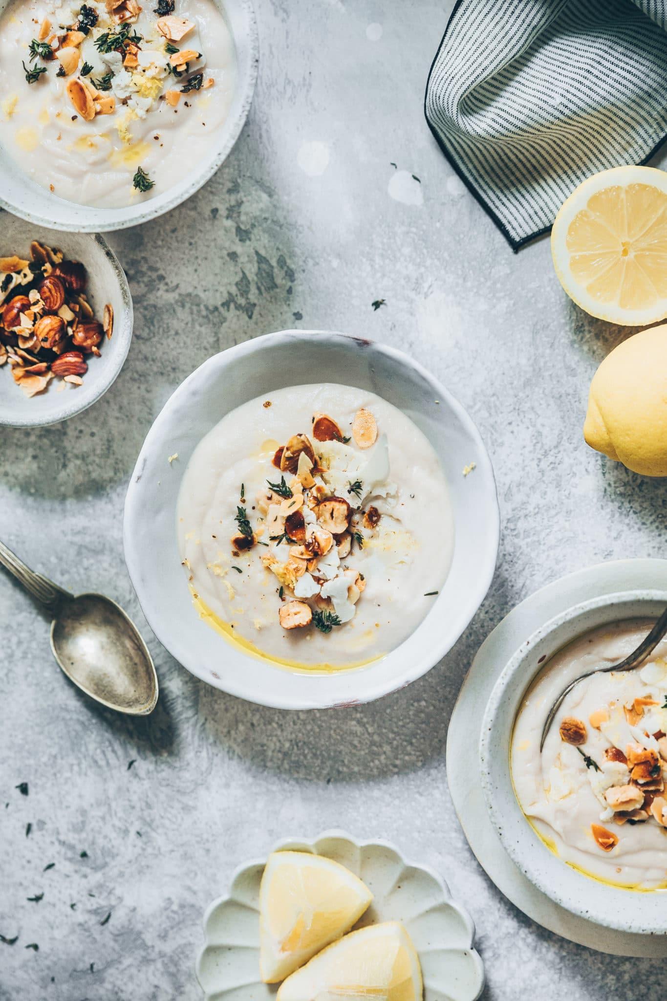velouté chou-fleur, Megandcook - styliste culinaire lyon