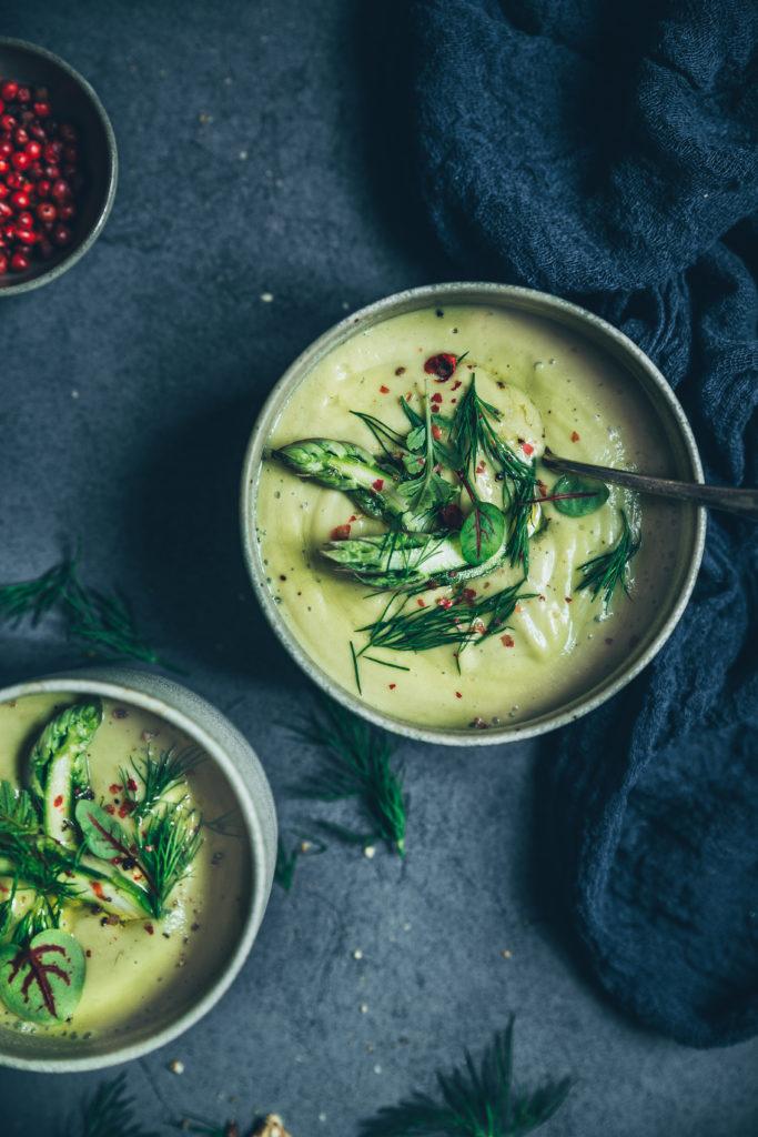 Velouté d'asperges lait de coco - megane Arderighi - megandcook - styliste culinaire
