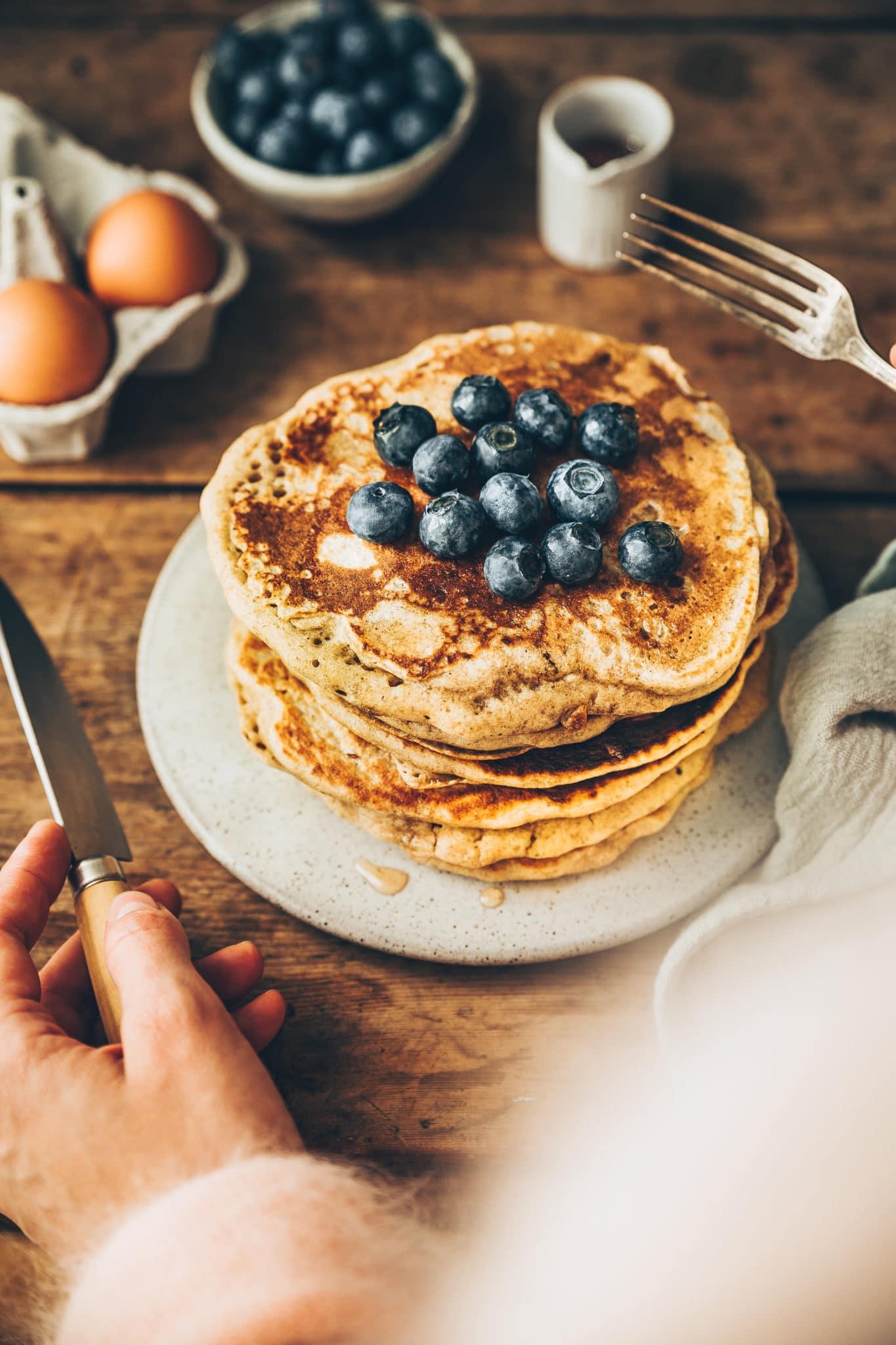 Sourdough pancakes - Mégane Arderighi - styliste culinaire
