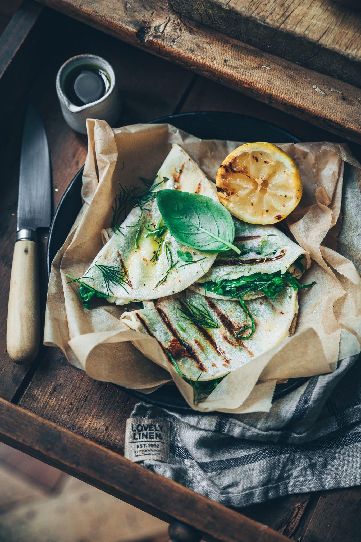 Quesadillas Megane Arderighi - styliste culinaire megandcook