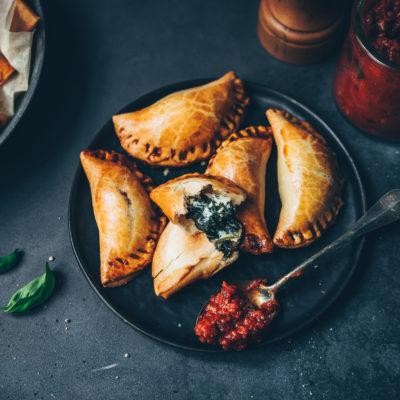Empanadas ricotta & épinards