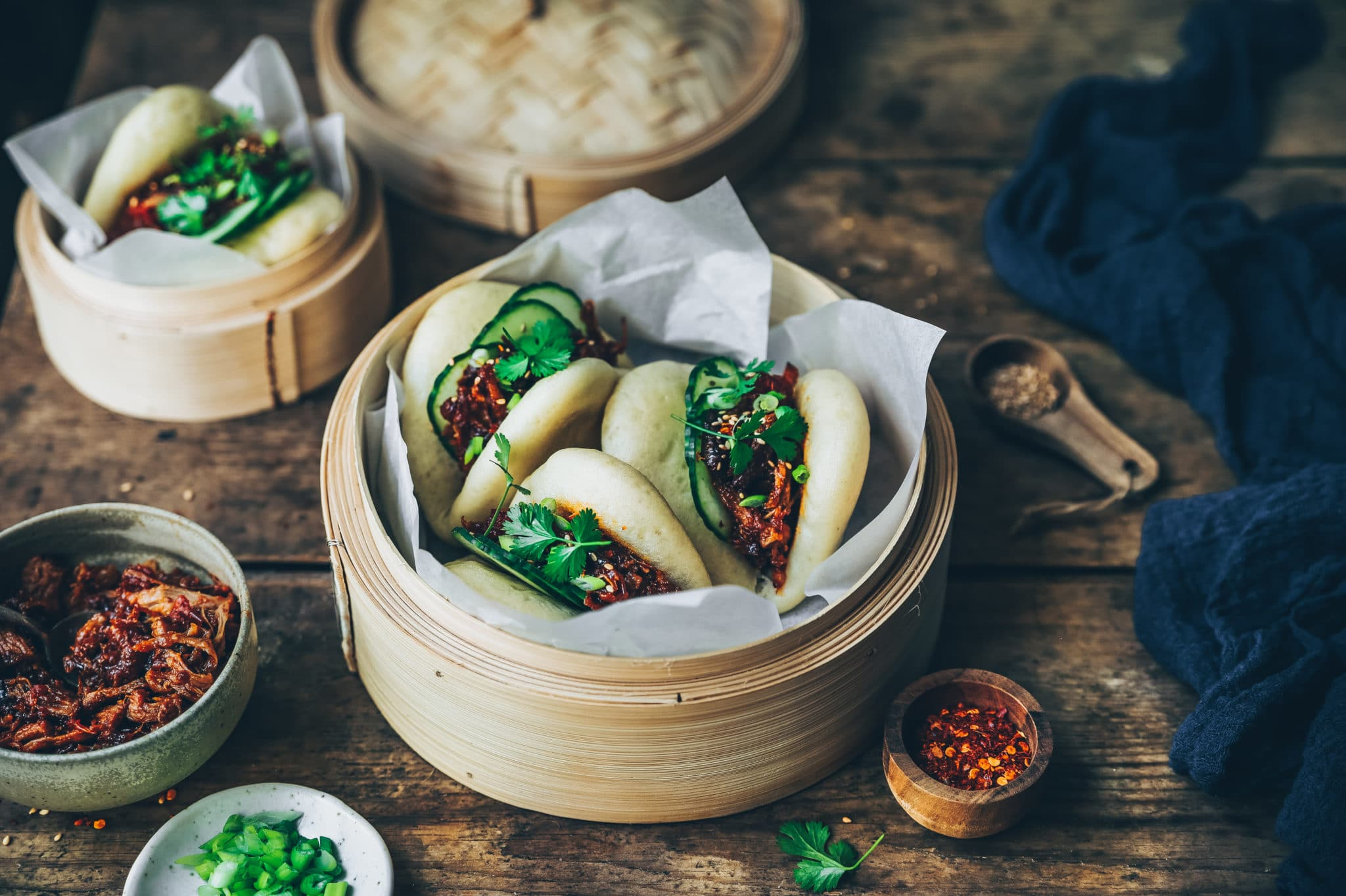 Gua Bao au pulled pork