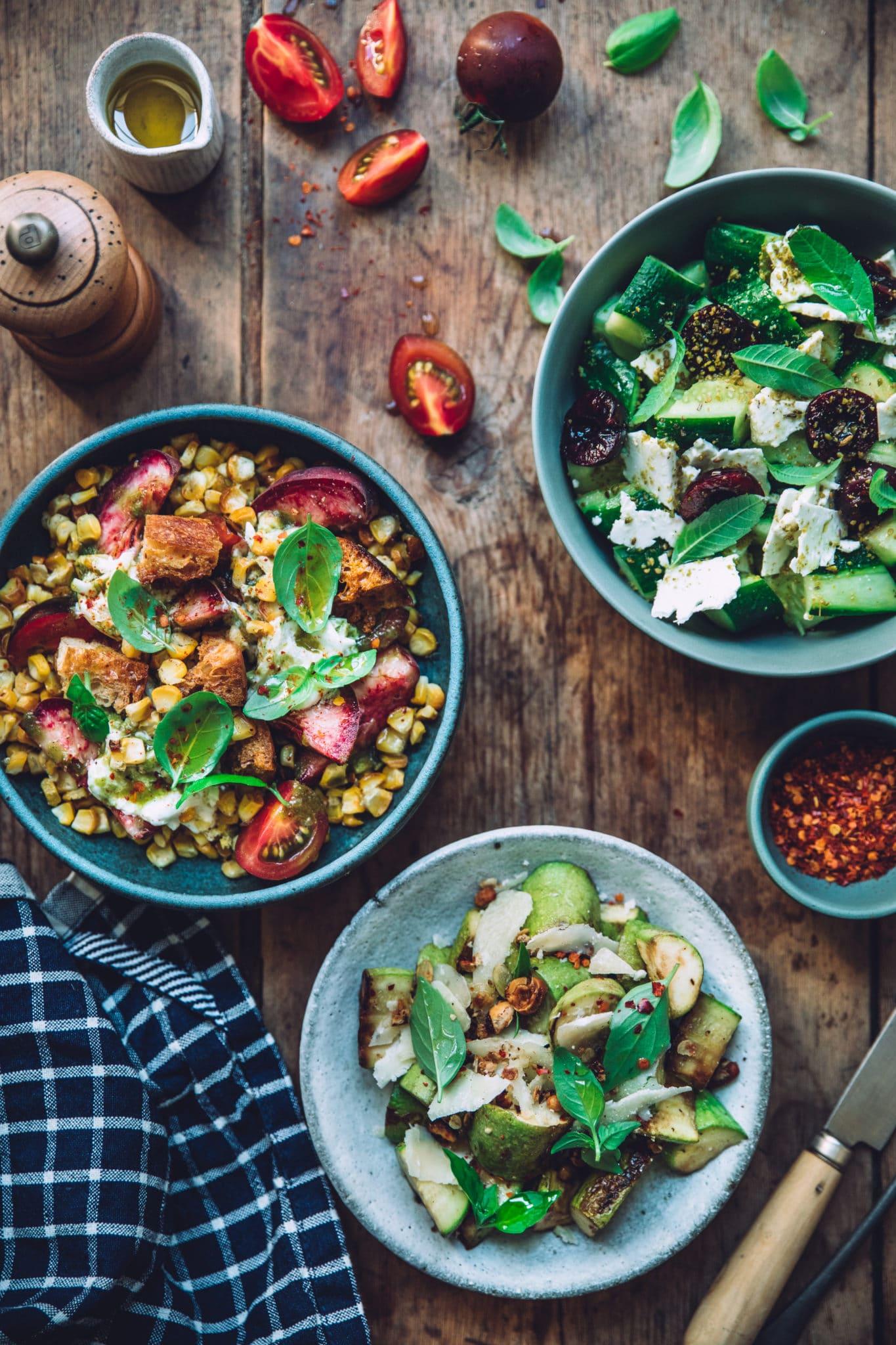 Salade styliste culinaire lyon - Mégane Arderighi megandcook