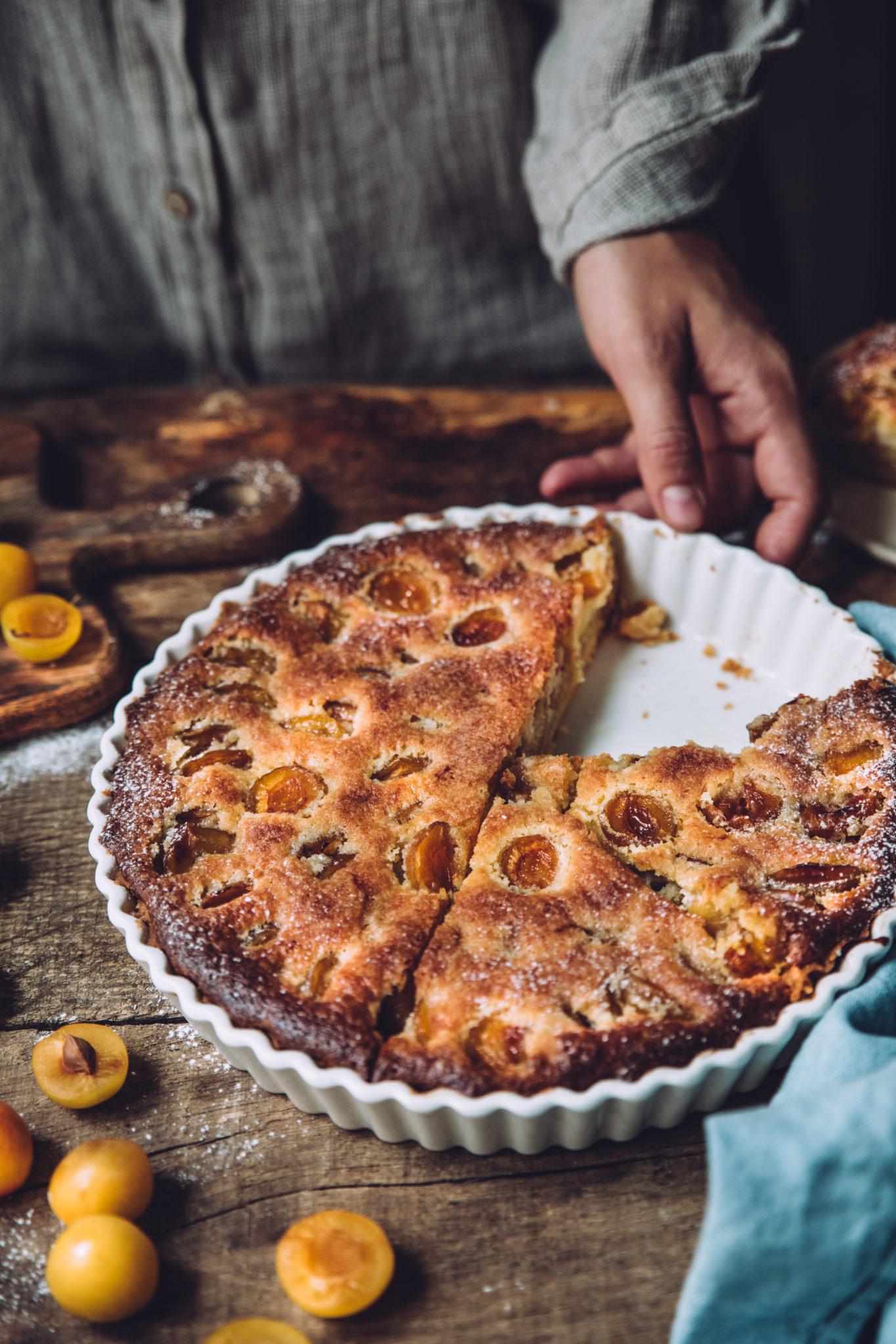Tarte aux mirabelles - Mégane Ardérighi styliste culinaire lyon
