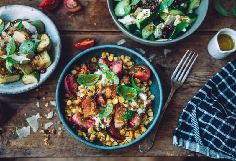 Salades anti-gaspi pour l'été