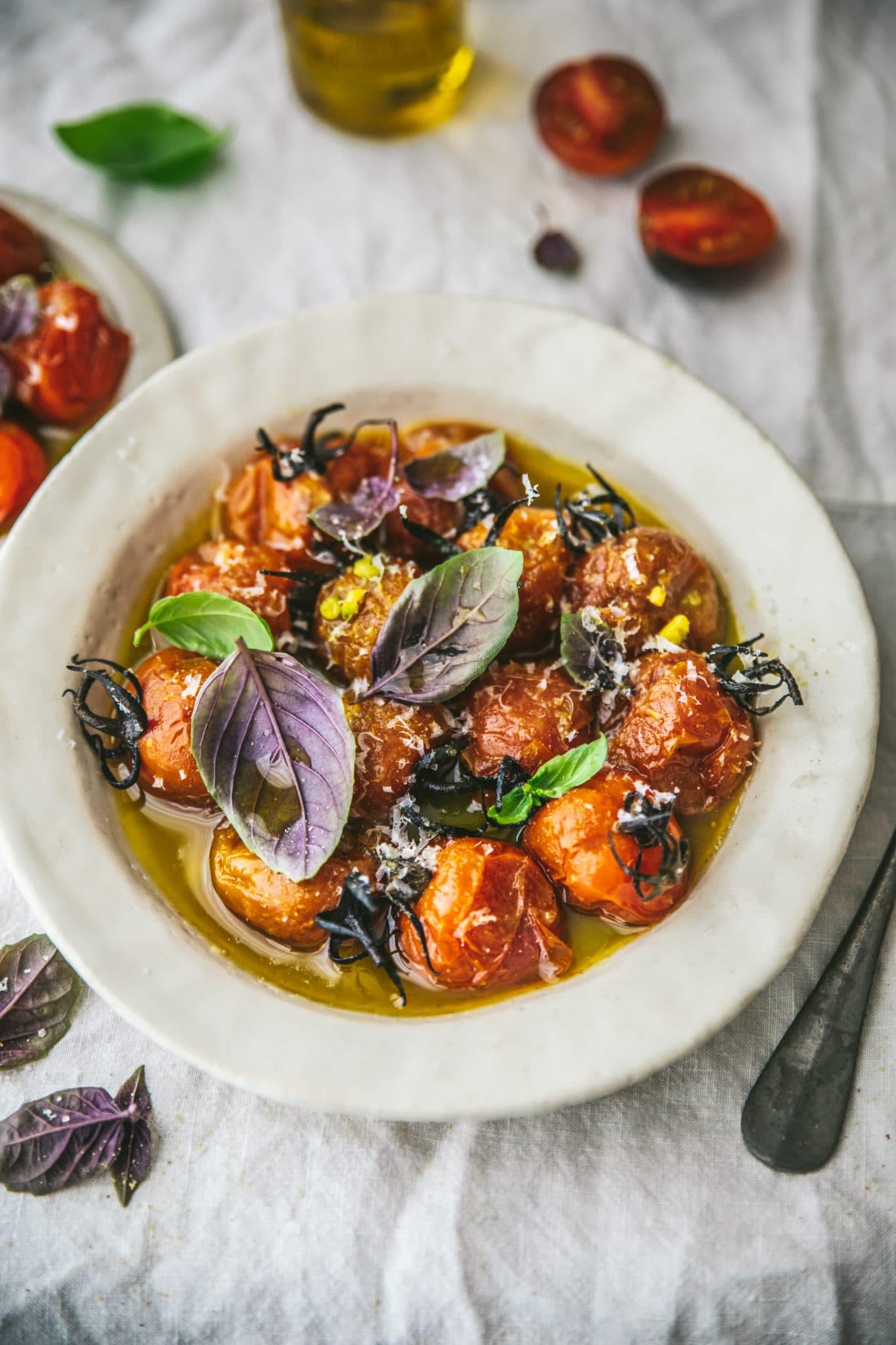 Tomates confites Mégane Ardérighi - megandcook styliste culinaire lyon