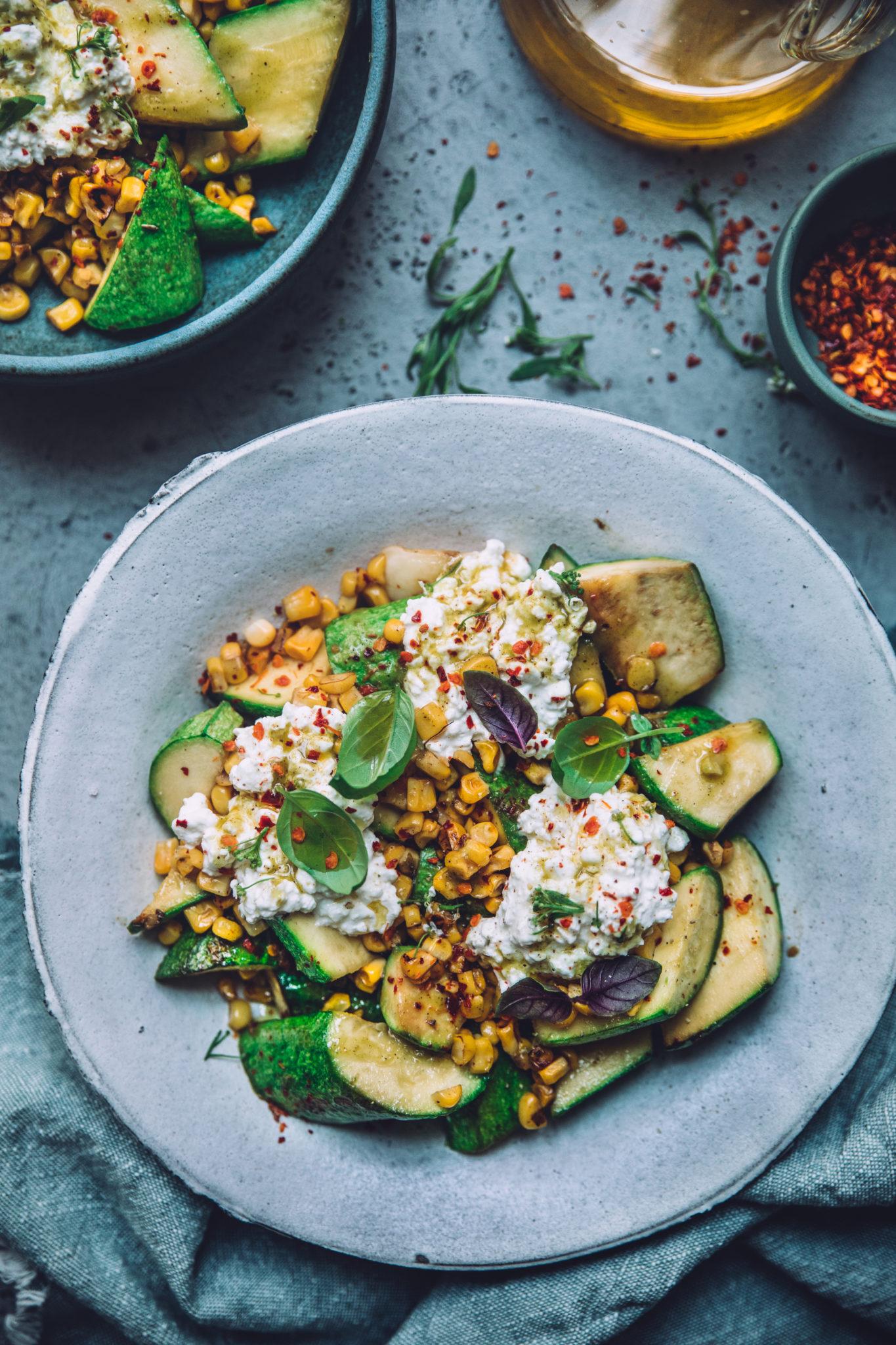 Salade maïs - Mégane Ardérighi - megandcook styliste culinaire lyon