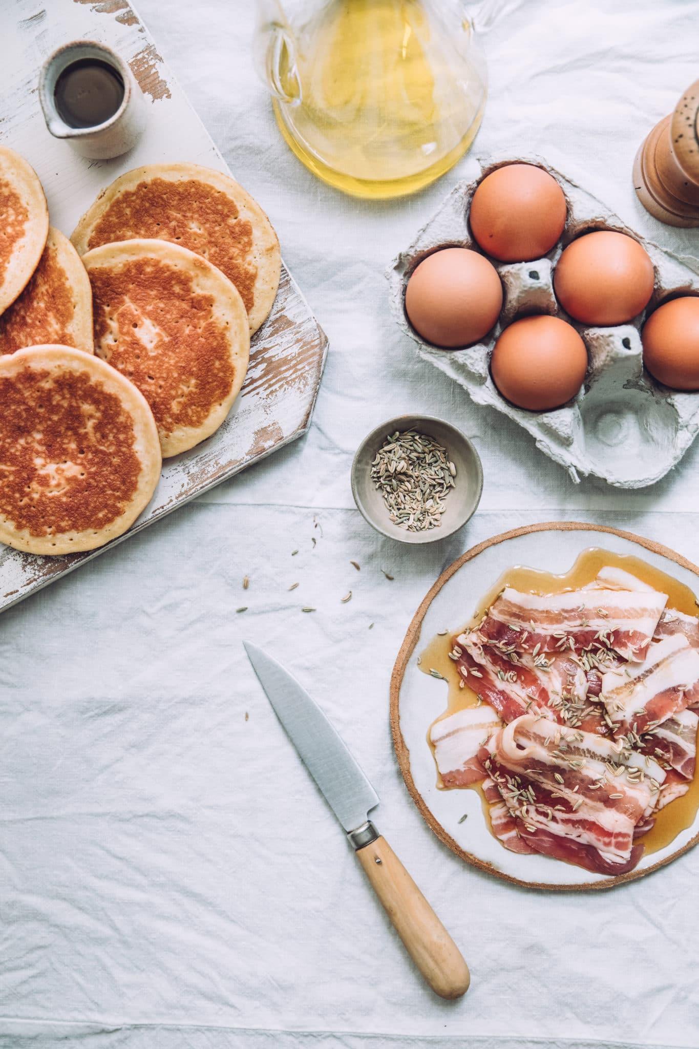 Pancakes Mégane Ardérighi Megandcook styliste culinaire lyon