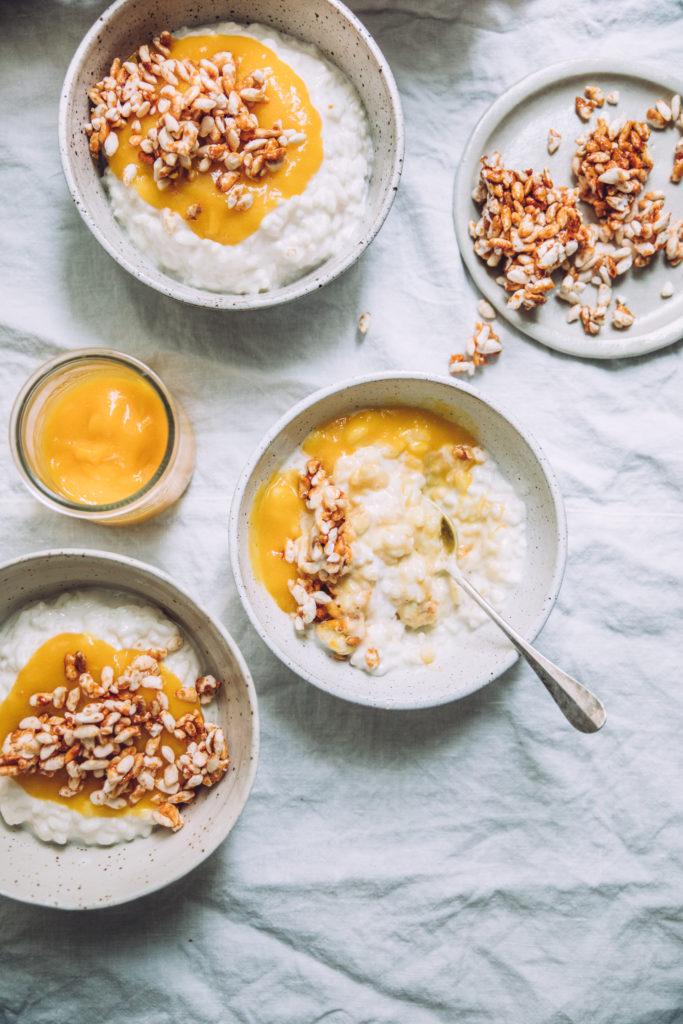 Riz au lait Mégane Arderighi megandcook styliste culinaire
