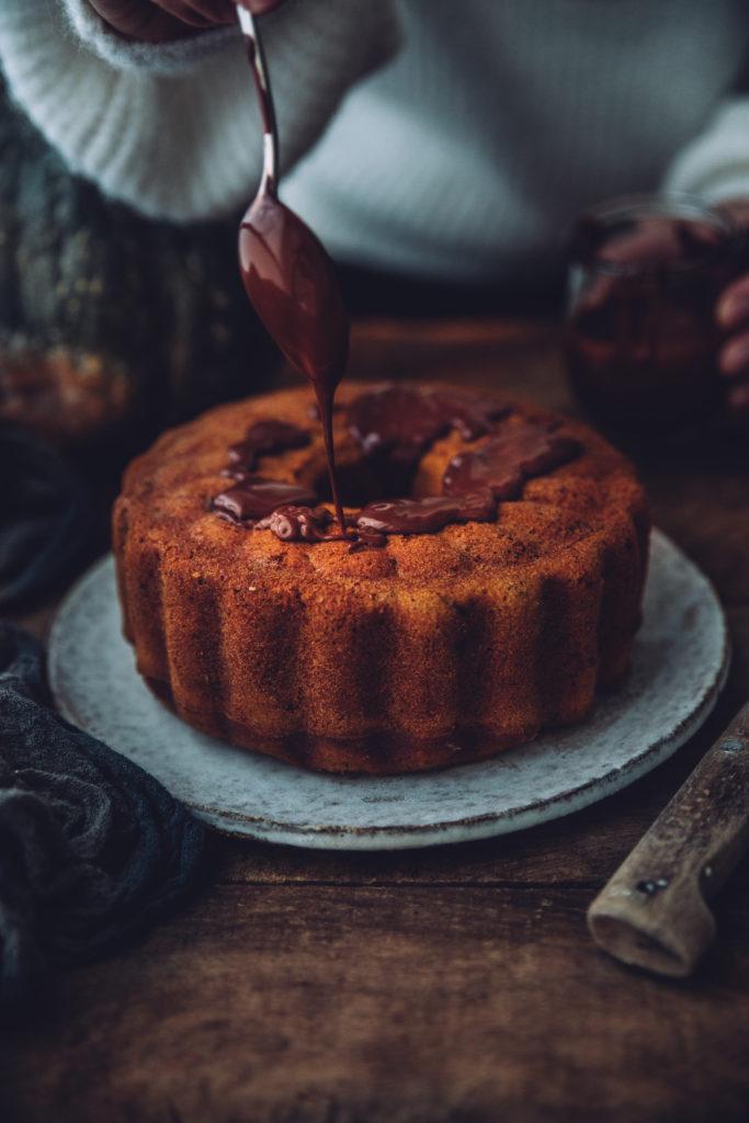 Bundt Cake courge chocolat