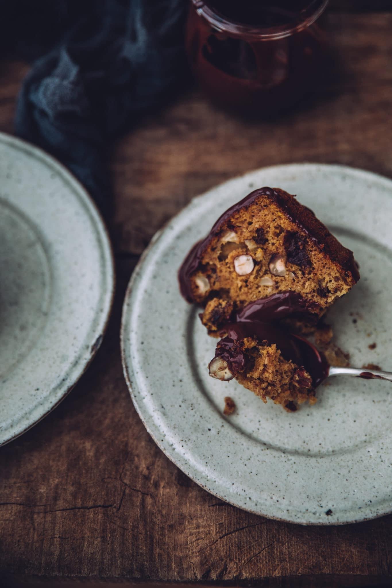Bundt Cake au potiron chocolat