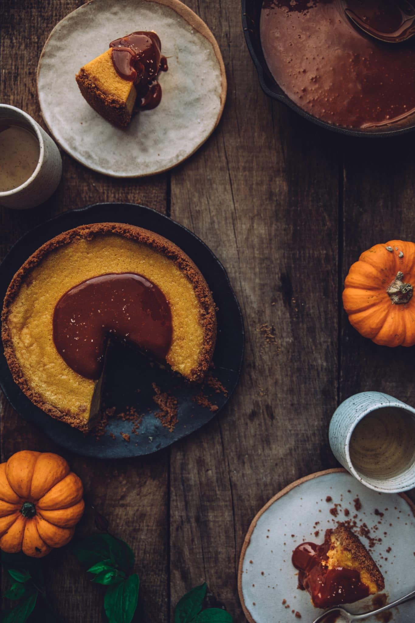 cheesecake potiron Mégane Ardérighi megandcook styliste culinaire