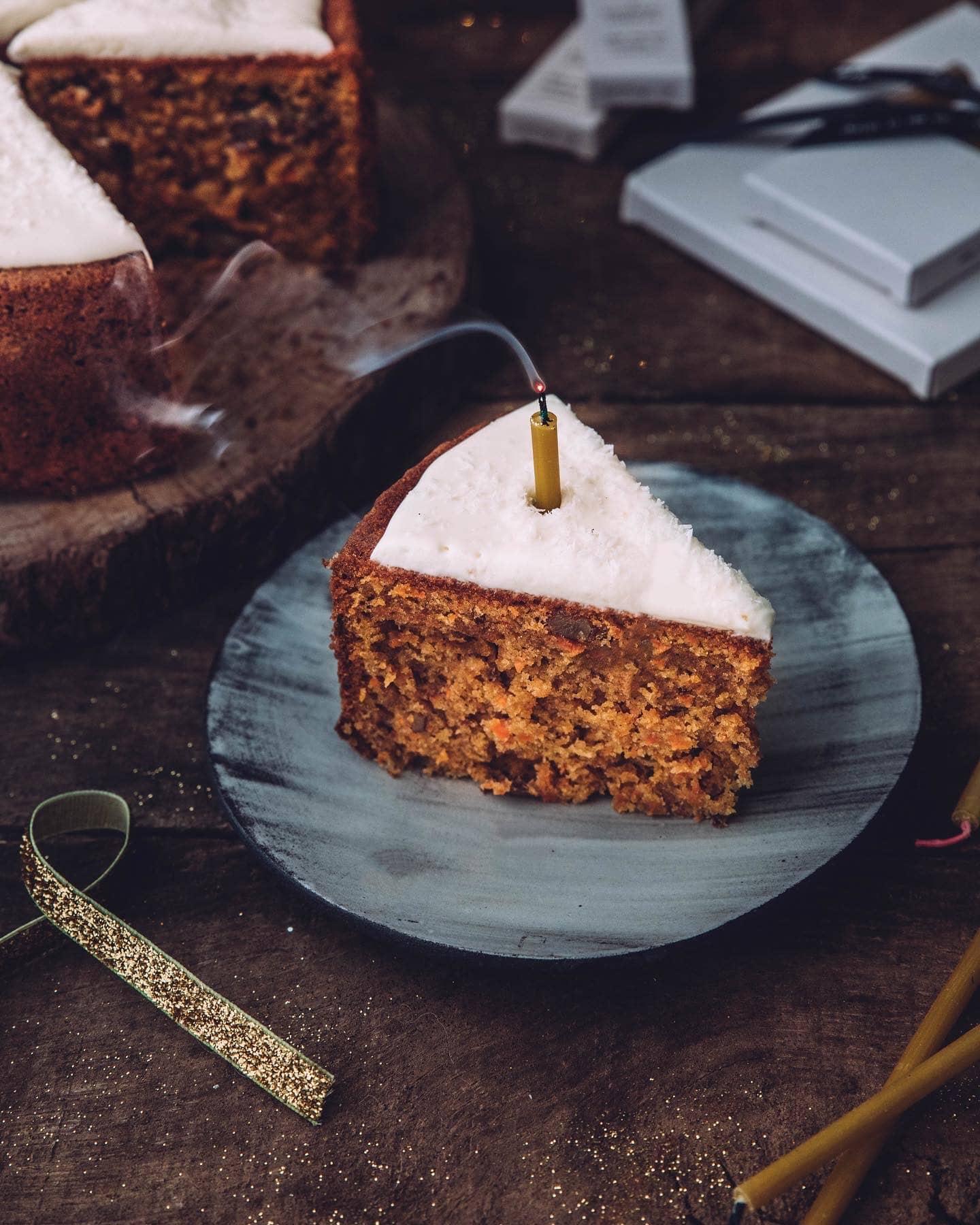Carrot cake à l'huile d'olive