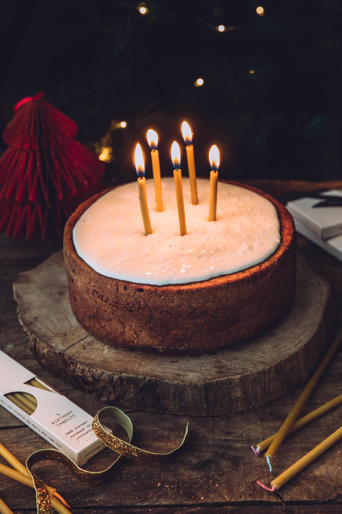 Carrot cake noël