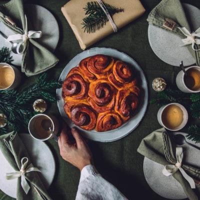 Brioche au potiron et aux épices