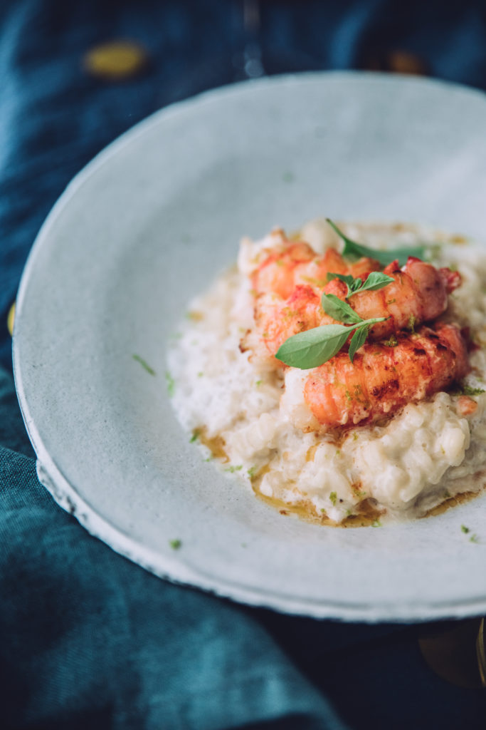 Risotto langoustines coco