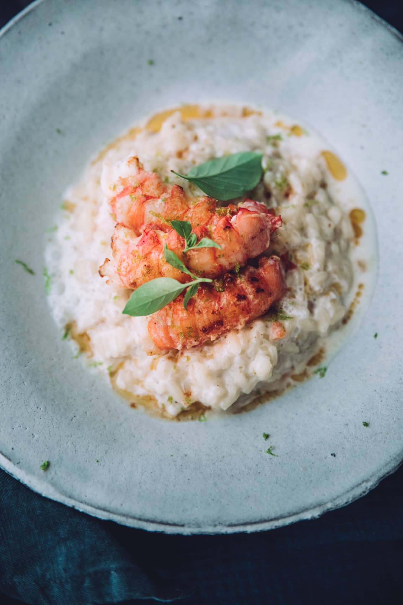 Risotto coco langoustines
